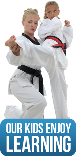 our kids enjoy learning martial arts